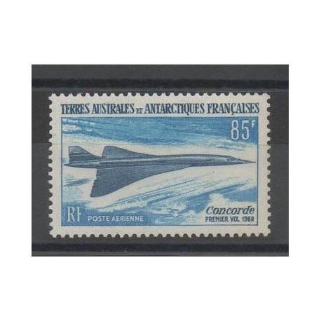 TAAF - Poste aérienne - 1969 - No PA19 - Avions - neuf avec charnière