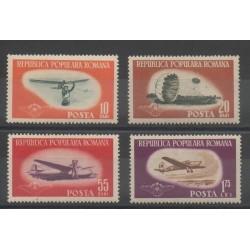 Roumanie - 1953 - No 1323/1326 - Avions