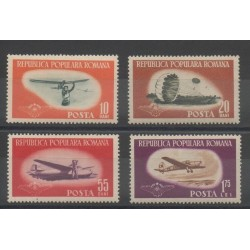 Romania - 1953 - Nb 1323/1326 - Planes