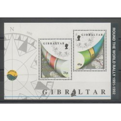 Gibraltar - 1992 - Nb BF 16 - Boats