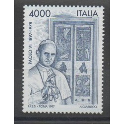 Italy - 1997 - Nb 2270 - Pope