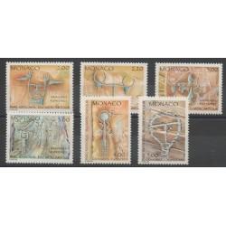 Monaco - 1989 - No 1663/1668 - Peinture