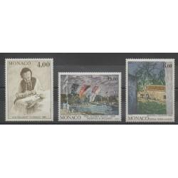Monaco - 1989 - Nb 1693/1695 - Painting