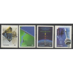 Canada - 2000 - Nb 1766/1769 - Sciences