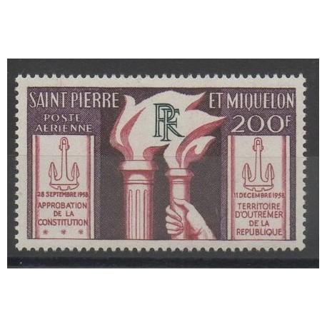 Saint-Pierre et Miquelon - 1959 - No PA26 - neuf avec charnière