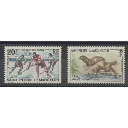 Saint-Pierre et Miquelon - 1959 - No 360/361
