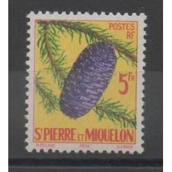 Saint-Pierre et Miquelon - 1958 - No 359 - Arbres