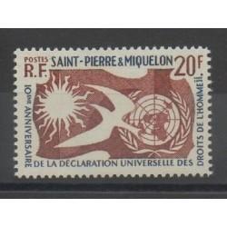 Saint-Pierre et Miquelon - 1958 - No 358