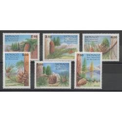 Monaco - 1991 - Nb 1799/1804 - Trees