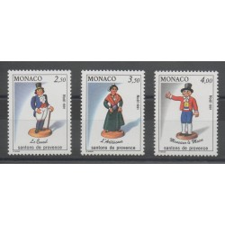 Monaco - 1991 - No 1794/1796 - Noël