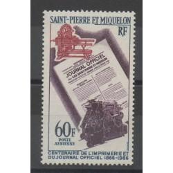 Saint-Pierre et Miquelon - 1966 - No PA37