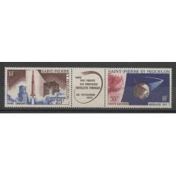 Saint-Pierre et Miquelon - 1966 - No PA34A - Espace