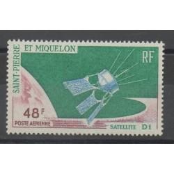 Saint-Pierre et Miquelon - 1966 - No PA 35 - Espace