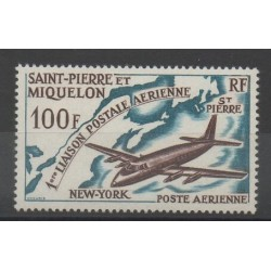 Saint-Pierre and Miquelon - 1964 - Nb PA 31 - Planes