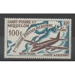 Saint-Pierre et Miquelon - 1964 - No PA 31 - Avions