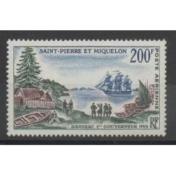 Saint-Pierre and Miquelon - 1963 - Nb PA 30