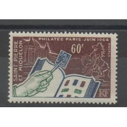 Saint-Pierre and Miquelon - 1964 - Nb 371 - Exhibition