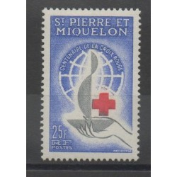 Saint-Pierre and Miquelon - 1963 - Nb 369 - Health