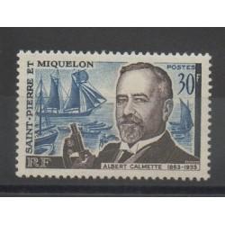 Saint-Pierre et Miquelon - 1963 - No 368 - Santé ou croix-rouge