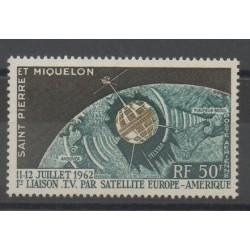 Saint-Pierre et Miquelon - 1962 - No PA 29 - Espace - neuf avec charnière
