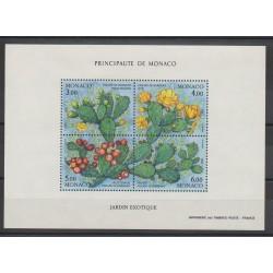 Monaco - Blocs et feuillets - 1992 - No BF 55 - Fleurs