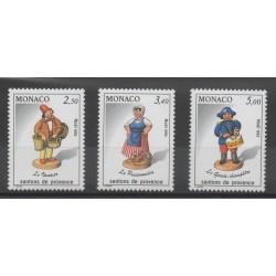 Monaco - 1992 - No 1846/1848 - Noël