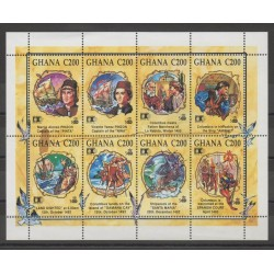 Ghana - 1992 - No 1377/1384 - Christophe Colomb