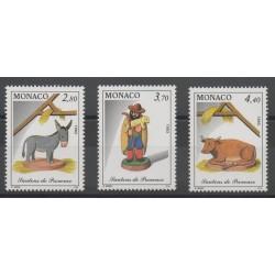 Monaco - 1993 - No 1912/1914 - Noël