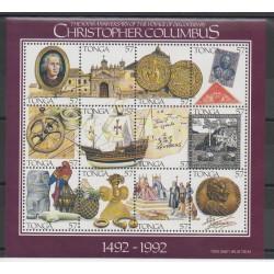 Tonga - 1992 - No 847/858 - Christophe Colomb