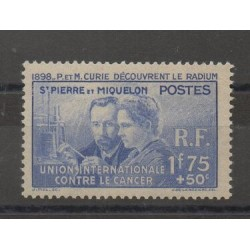 Saint-Pierre et Miquelon - 1938 - No 166