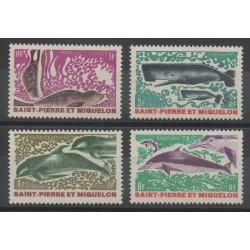 Saint-Pierre et Miquelon - 1969 - No 391/394