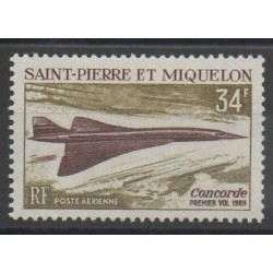 Saint-Pierre et Miquelon - 1969 - No PA 43