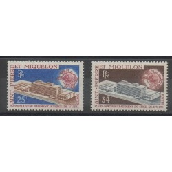 Saint-Pierre et Miquelon - 1970 - No 399/400
