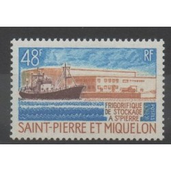 Saint-Pierre and Miquelon - 1970 - Nb 406 - Boats