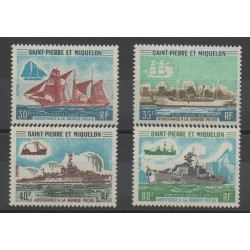 Saint-Pierre et Miquelon - 1971 - No 410/413