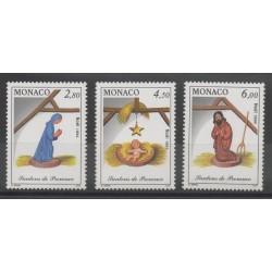 Monaco - 1994 - Nb 1957/1959 - Christmas