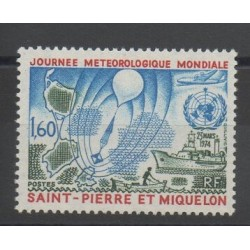 Saint-Pierre and Miquelon - 1974 - Nb 433 - Sciences