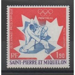 Saint-Pierre et Miquelon - 1975 - No PA 61