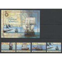 Pitcairn - 2005 - No 634/637 - BF 35 - Bateaux