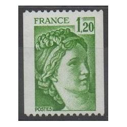 France - Varieties - 1980 - Nb 2103a
