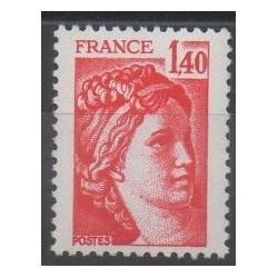 France - Varieties - 1980 - Nb 2102b