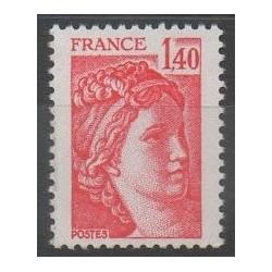 France - Varieties - 1980 - Nb 2102a