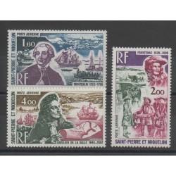 Saint-Pierre and Miquelon - 1973 - Nb PA54/PA56