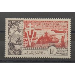Saint-Pierre et Miquelon - 1954 - No PA 22