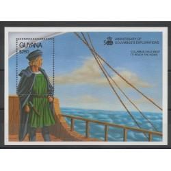 Guyana - 1992 - No BF 97 - Christophe Colomb