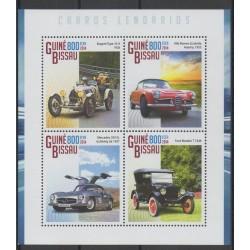 Guinea-Bissau - 2014 - Nb 5620/5 - Cars
