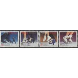 Canada - 2001 - Nb 1850/1853 - Sport