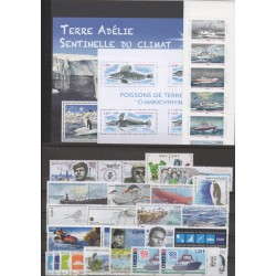 French Southern and Antarctic Territories - Complete year - 2015 - Nb 722/760