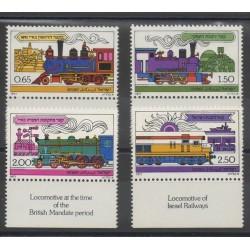 Israël - 1977 - No 660/663 - Trains