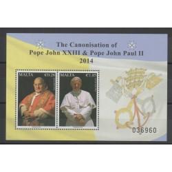 Malta - 2014 - Nb BF 58 - Pope